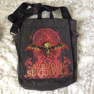 Avenged Sevenfold A7X Messenger Bag Backpack